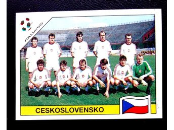 PANINIs  STICKERS - ITALY 90 -   CHESKOSLOVENSKA   team.