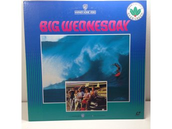Big Wednesday surfing (Gary Busey) Laserdisc 1LD B8-09