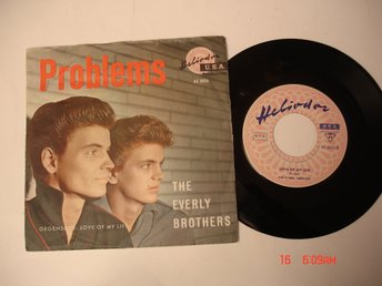 The EVERLY BROTHERS, singel