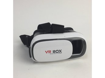 VR BOX, VR glasögon, Svart/Vit