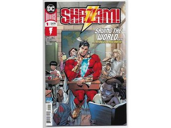 Shazam! 2nd Series # 1 NM Ny Import