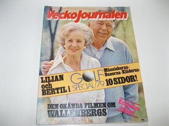 Vecko Journalen 1979-23 Dagmar Hagelin..Golf..Leigh Olivier