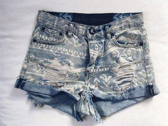 One Teaspoon Aztec jeansshorts - ängelholm - One Teaspoon Aztec jeansshorts - ängelholm