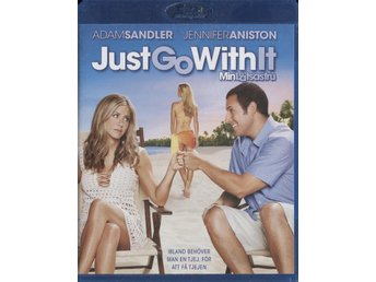 Just Go With It - 2011 - Blu-ray - Adam Sandler, Jennifer Aniston - Bålsta - Just Go With It - 2011 - Blu-ray - Adam Sandler, Jennifer Aniston - Bålsta