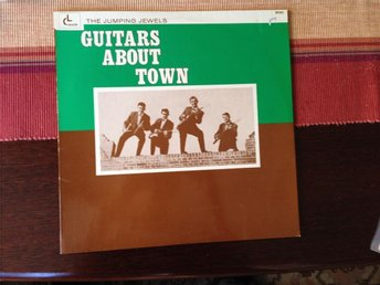 the Jumping Jewels - Guitars about town - Lp