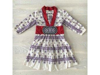 Odd Molly tunika klänning stl 1 36 S vit lila röd Nyskick! - Falun - Odd Molly tunika klänning stl 1 36 S vit lila röd Nyskick! - Falun
