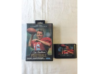 Tevespel - Megadrive - joe Montana Football