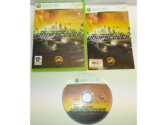 XBOX 360 spelet **Need For Speed, Undercover** * KOMPLETT *