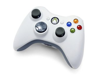 Xbox 360 Wireless Controller - White - Xbox 360