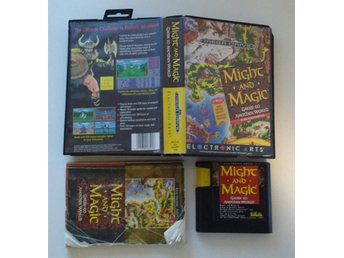 Sega Mega Drive: Might and Magic