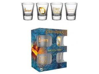 Lord Of The Rings Snapsglas 4-Pack