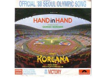"""Koreana - Hand In Hand (7"""", Single) - Viksjö - A - Hand In HandB - Victory - Viksjö"""
