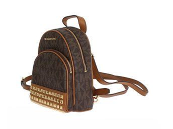 Michael Kors - Brown ABBEY Leather XS Backpack