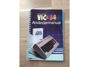 VIC64 svensk manual