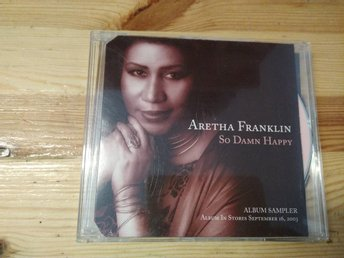 Aretha Franklin - So Damn Happy Album Sampler, Promo, CDs