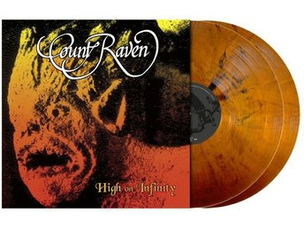 Count Raven -High On Infinity dlp DOOM Yellow ochre w/bonus