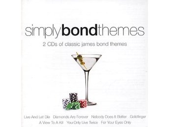 Simply James Bond themes (Ian Rich Orchestra) (2 CD)