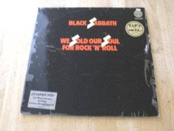 Black Sabbath - We Sold Our Soul For Rock N Roll (GAT, DLP)