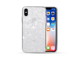 iPhone 7 8 Mobilskal Genomskinlig Diamant Mönster