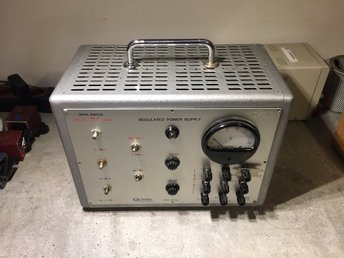 Regulated power supply 500V Oltronix med rör