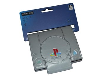 Plånbok Playstation 1 PS1 Officiell Grå Samlarobjekt Börs Se Hit!