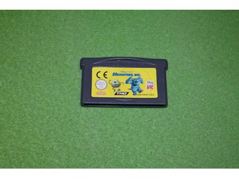 Monsters Inc GBA Gameboy Advance