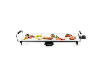 Emerio Teppanyaki Bordsgrill 1800 W Vit TG-106750.2