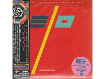 ELECTRIC LIGHT ORCHESTRA - BALANCE OF POW CD (REM) (JAPAN PAPER SLEEVE) NYSKICK!