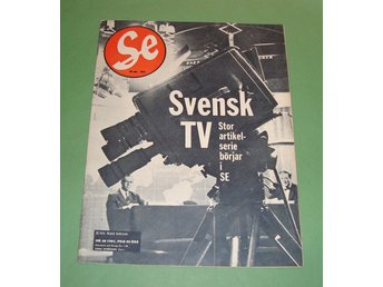 SE nr 48 1961 - Axel Wenner-Gren, Ralsviks-backen, svensk TV