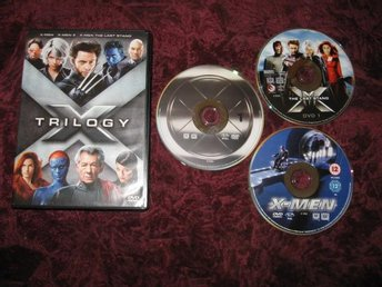 X-MEN TRILOGY (X-MEN,X-MEN 2,X-MEN THE LAST STAND) DVD