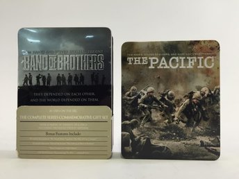 Band Of Brothers Och The Pacific, DVD-Filmer, Skick: Normalt
