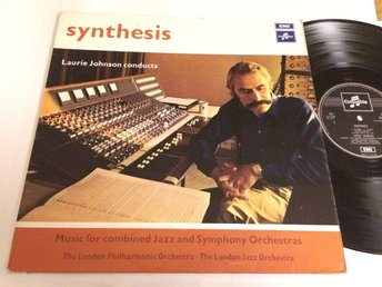 LAURIE JOHNSON synthesis LP -70 UK COLUMBIA SCX 6412 jazz