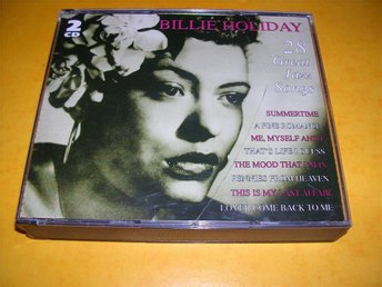 BILLIE HOLIDAY - 28 great jazz songs - (cd)