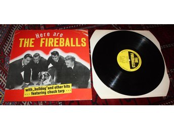 FIREBALLS Here are .. US Surf Rock 1959  US  LP M- Bulldog +
