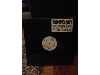 Randy Andy - The Motor Song (Stick In Your Dipstick) Maxi 1983 PROMO RARE