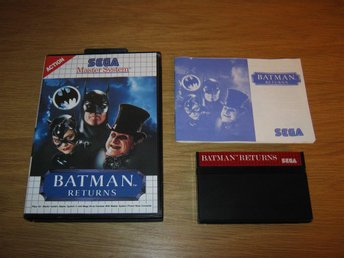 SEGA MS/PAL: Batman Returns (komplett)