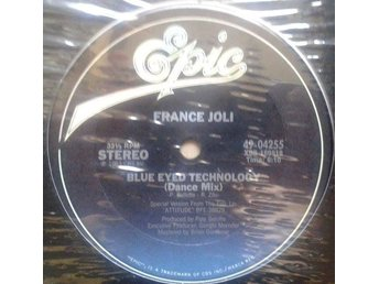 "France Joli title *Blue Eyed Technology* Disco 12"" US"