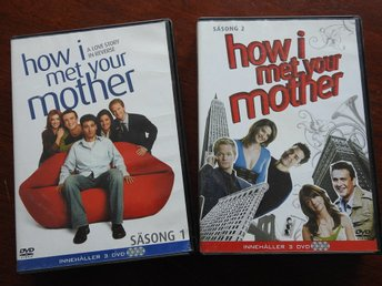 How I Met Your Mother Säsong 1 & 2 DVD