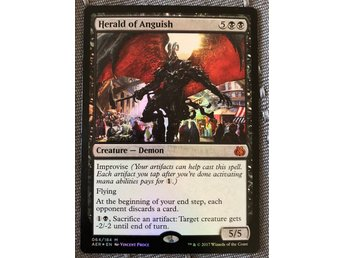 Herald of Anguish FOIL - Aether Revolt MTG Magic the Gathering