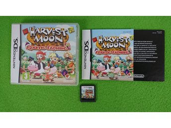 Harvest Moon Frantic Farming KOMPLETT Nintendo DS