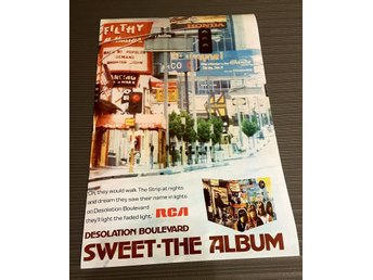 SWEET DESOLATION BOULEVARD 1974 PHOTO POSTER