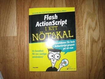Flash Actionscript i ett nötskal av Doug Sahlin + cd rom grafisk design
