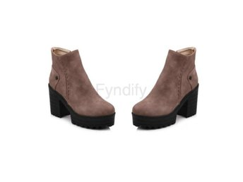 Dam Boots Fashion Platform Ladies Shoes apricot 40