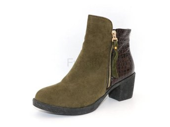 Dam Boots heels footwear shoes P16077 EUR Army Green 42