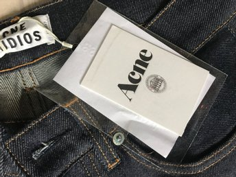 Jeans Nya Acne roc raw