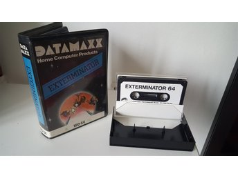 Commodore 64 spel - Exterminator
