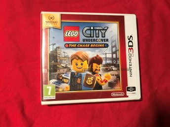 LEGO CITY UNDERCOVER THE CHASE BEGINS NINTENDO 3DS INPLASTAD