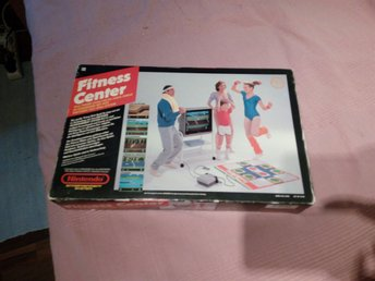 Nintendo Fitness-Center med Athletic World spelkasset