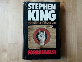 Förbannelse av Stephen King / inbunden