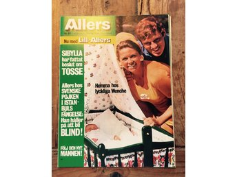Allers nr 41 1971 med bla. Wenche Myhre